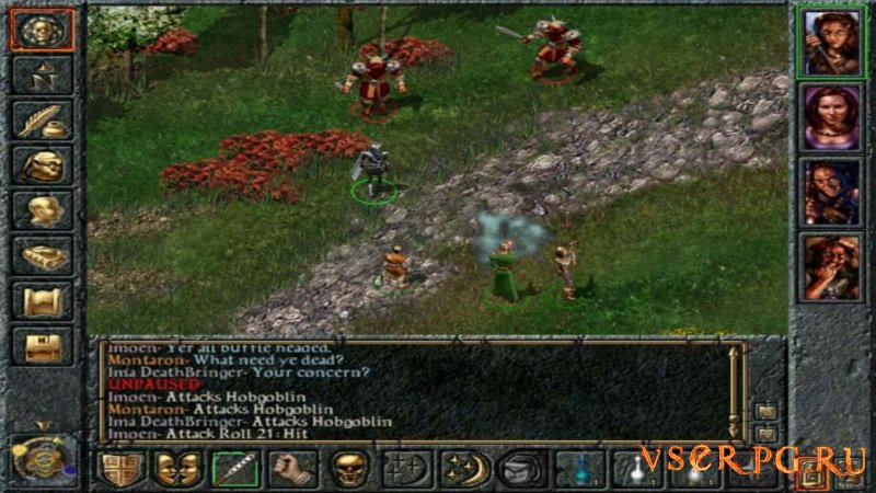 Baldur's Gate screen 2