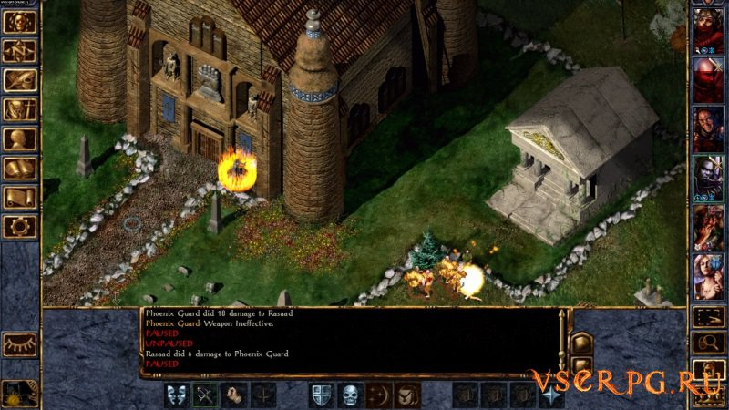 Baldur's Gate screen 1