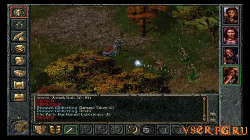 Baldur's Gate screen 3