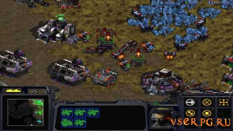 StarCraft 1 screen 1