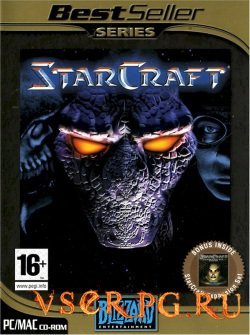Постер игры StarCraft 1