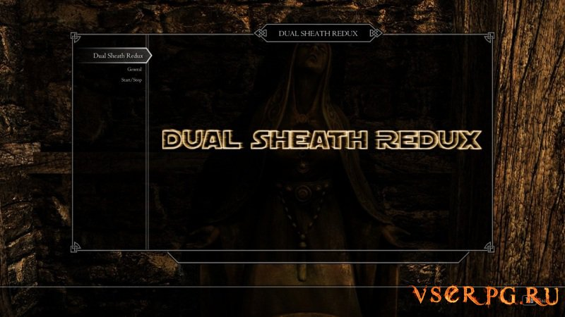 Dual Sheath Redux screen 2