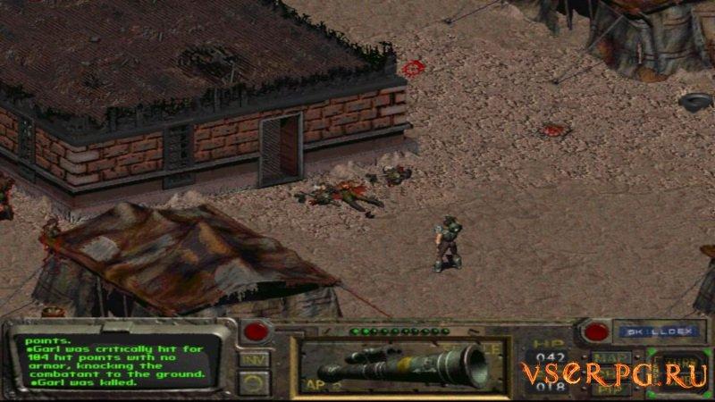 Fallout 1 screen 1
