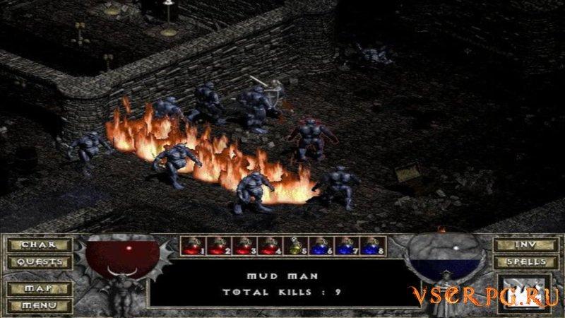 Diablo Hellfire screen 3
