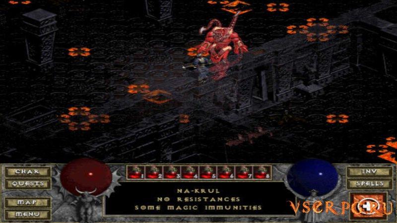 Diablo Hellfire screen 2