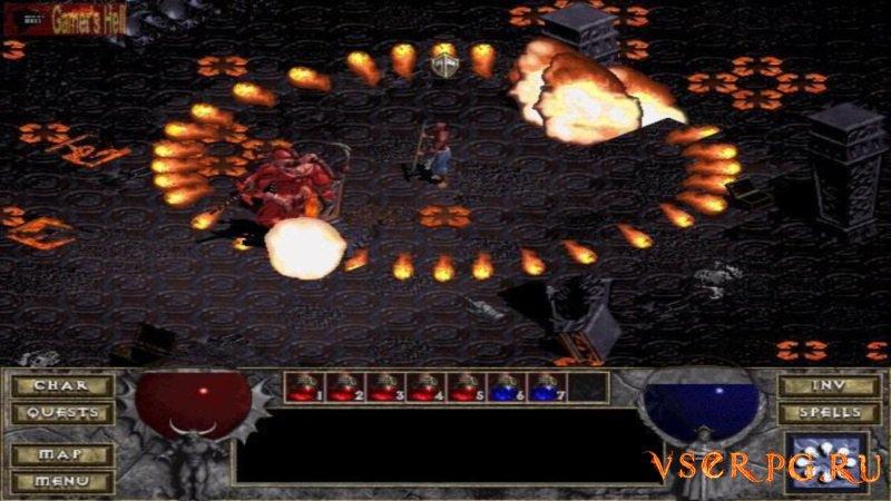 Diablo Hellfire screen 1