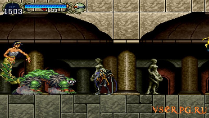 Castlevania Symphony of the Night screen 2