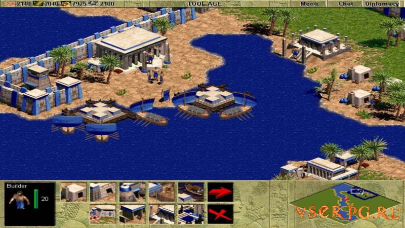 Age of Empires screen 1
