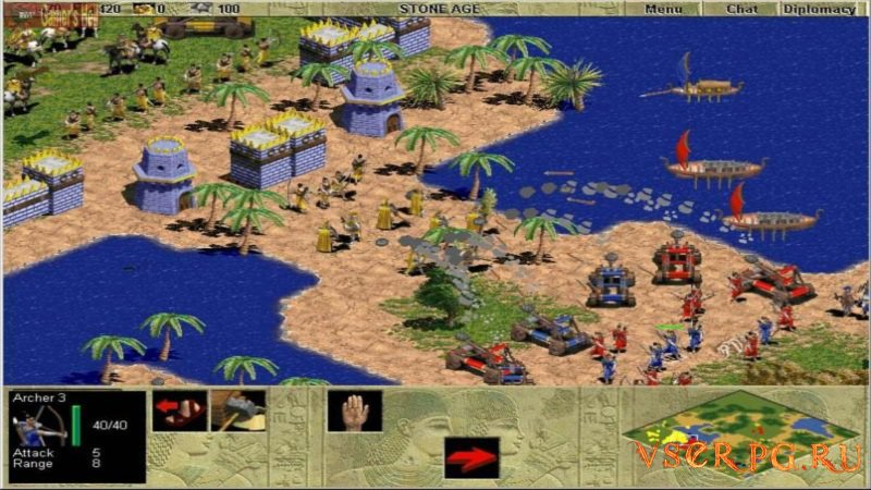 Age of Empires screen 2