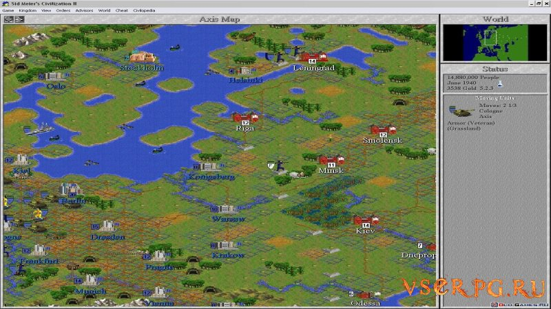 Civilization 2 screen 3