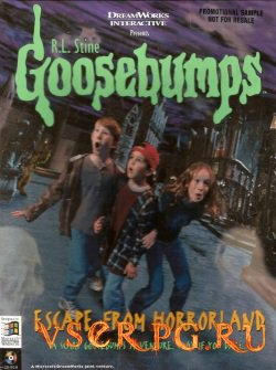 Постер игры Goosebumps