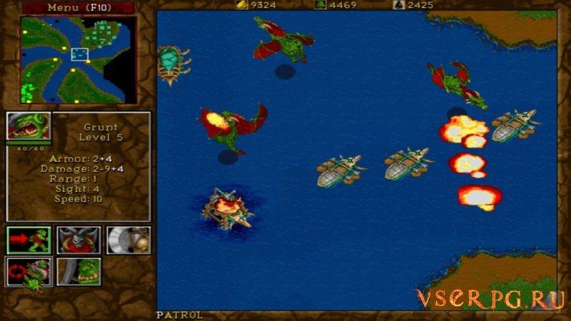 Warcraft 2 screen 1