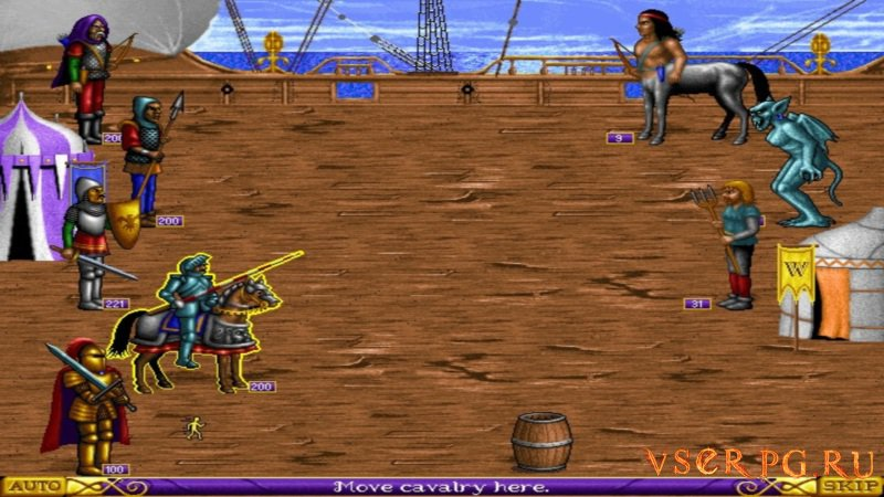 Heroes of Might and Magic screen 1