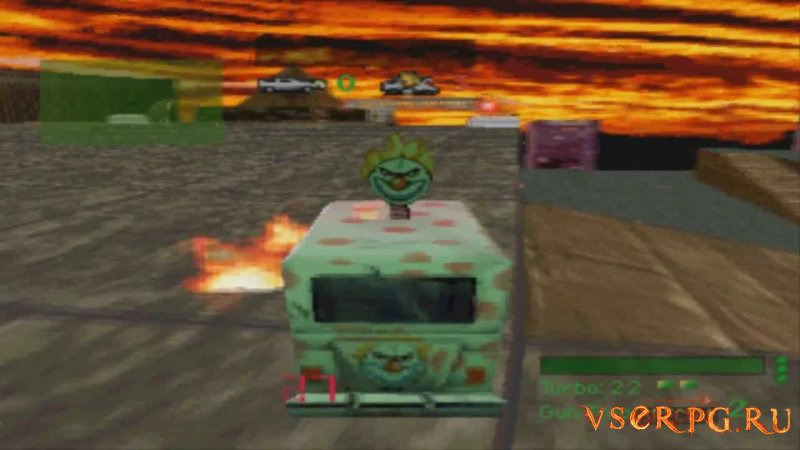 Twisted Metal screen 2