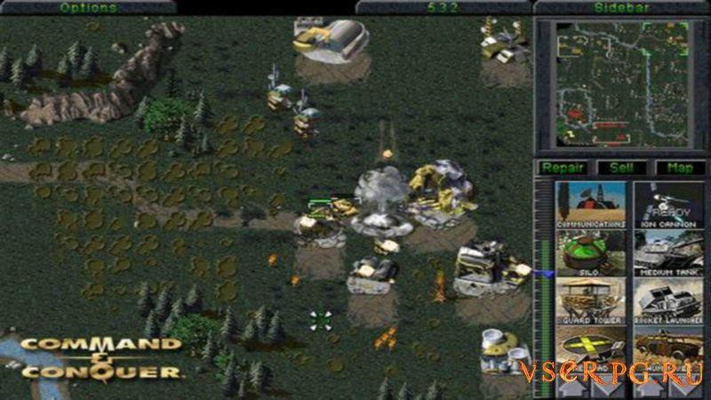 Command & Conquer screen 3