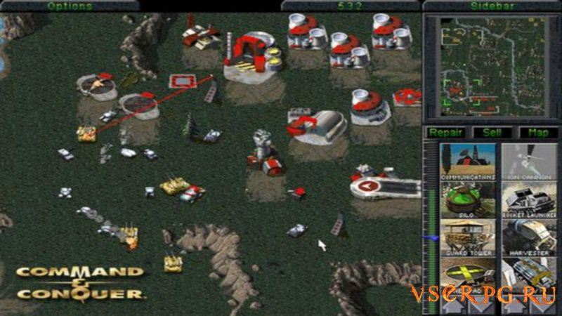 Command & Conquer screen 2