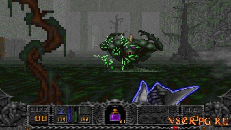 Hexen Beyond Heretic screen 1
