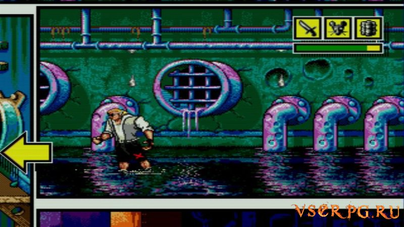 Comix Zone screen 1