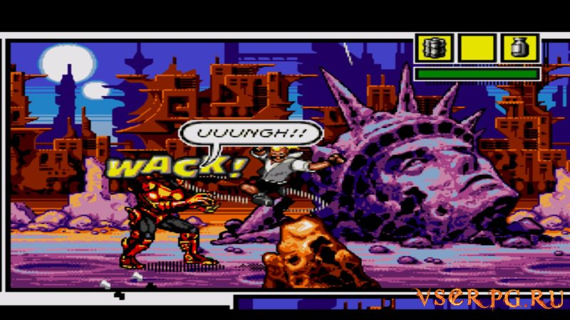 Comix Zone screen 2