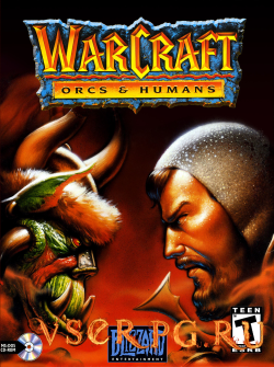Постер Warcraft Orcs and Humans