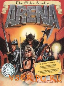 Постер игры The Elder Scrolls Arena
