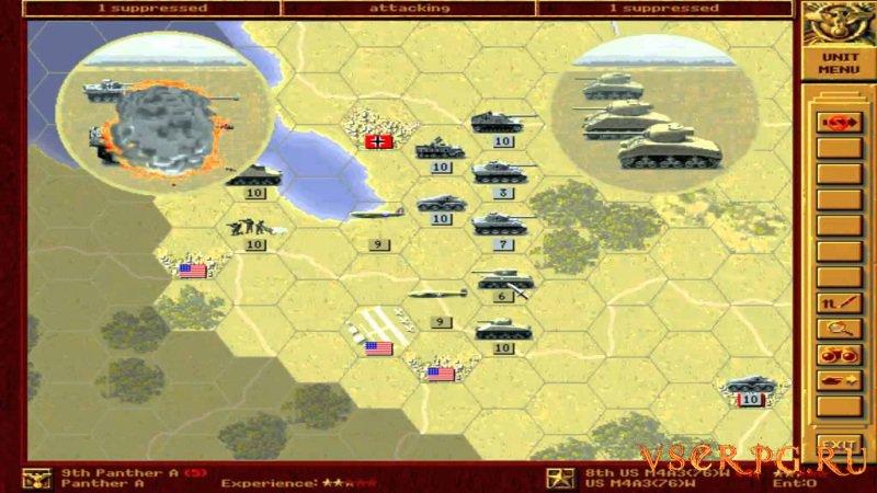 Panzer General screen 2