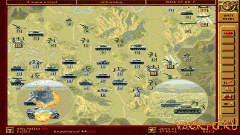 Panzer General screen 3