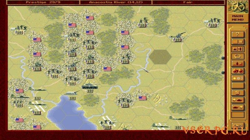 Panzer General screen 1
