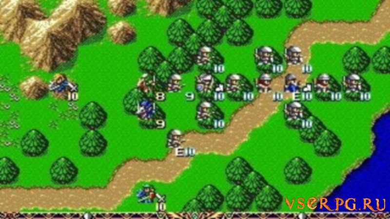 Langrisser 2 screen 1