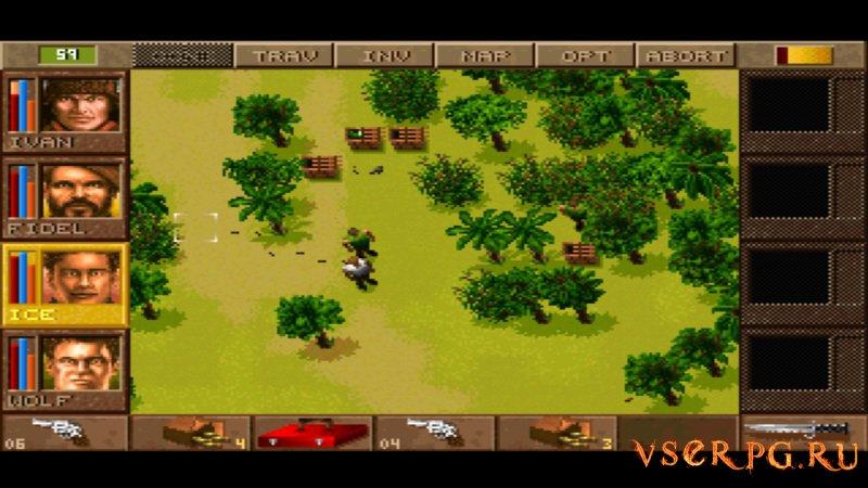 Jagged Alliance screen 1