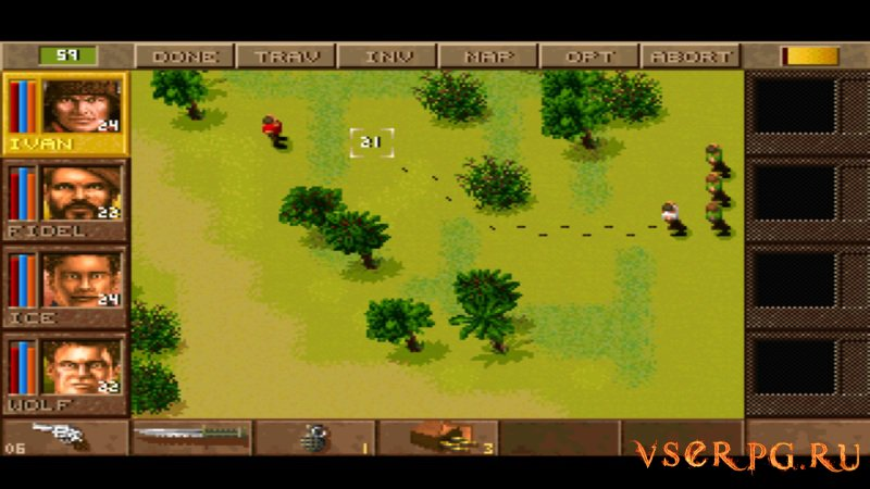 Jagged Alliance screen 2