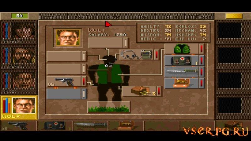 Jagged Alliance screen 3