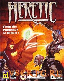 Постер игры Heretic