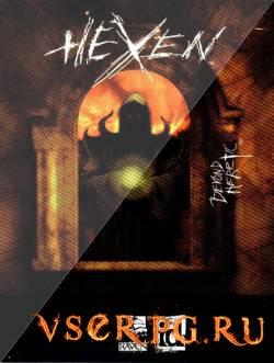 Постер игры Hexen Beyond Heretic