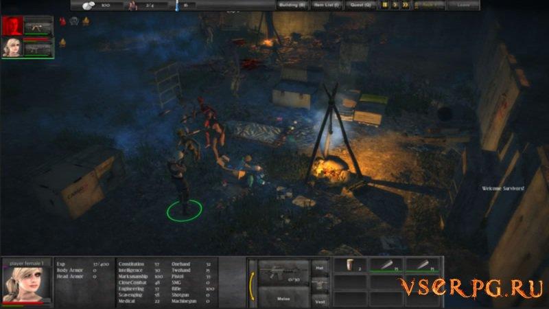 Forsaken Fortress Strategy screen 1