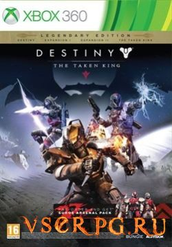 Постер игры Destiny The Taken King [Xbox 360]