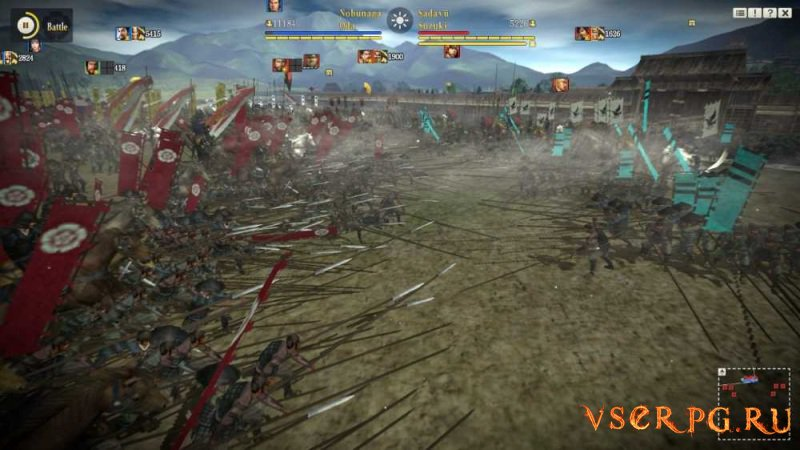 NOBUNAGA'S AMBITION: Sphere of Influence screen 1