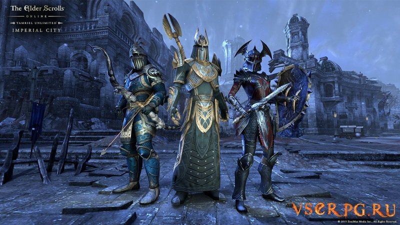 Elder Scrolls Online Imperial City screen 1