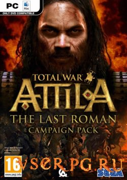 Постер игры Total War Attila: The Last Roman Campaign