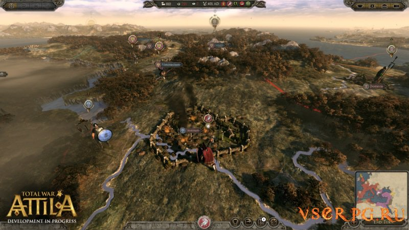 Total War Attila: The Last Roman Campaign screen 3