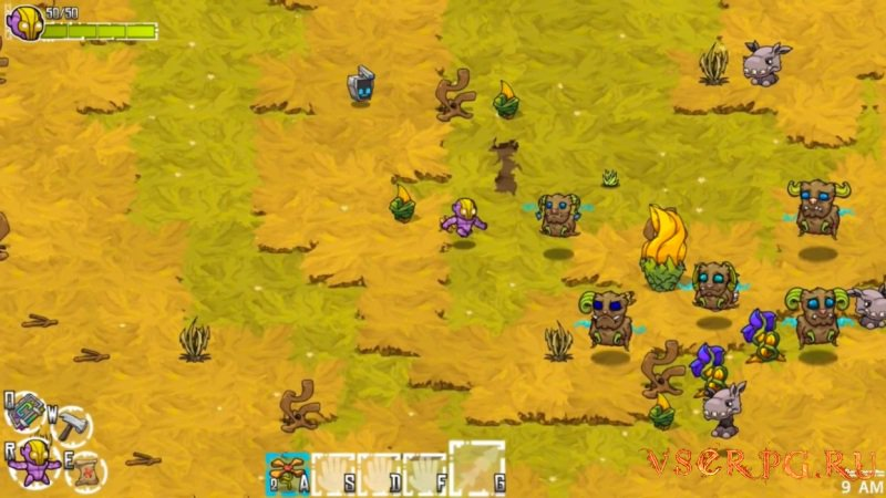 Crashlands screen 1