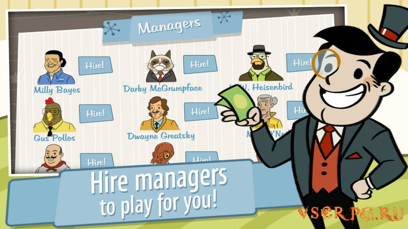 AdVenture Capitalist screen 3