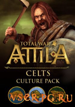 Постер игры Total War Attila Celts Culture