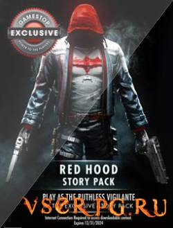 Постер игры Batman Arkham Knight: Red Hood