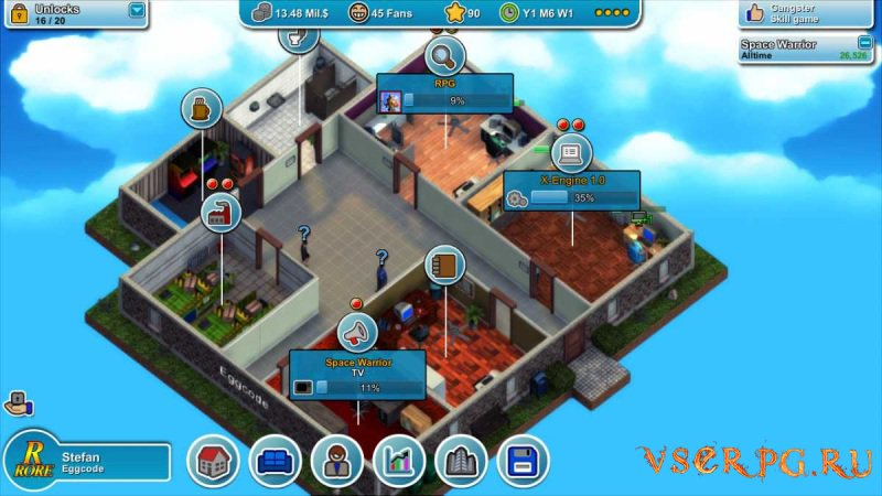 Mad Games Tycoon screen 3