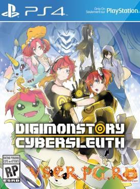 Постер игры Digimon Story Cyber Sleuth