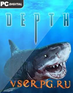 Постер игры Depth