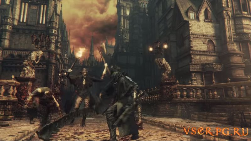 Bloodborne: The Old Hunters screen 2