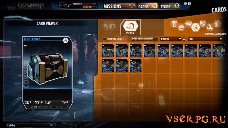 MechWarrior Tactics screen 2