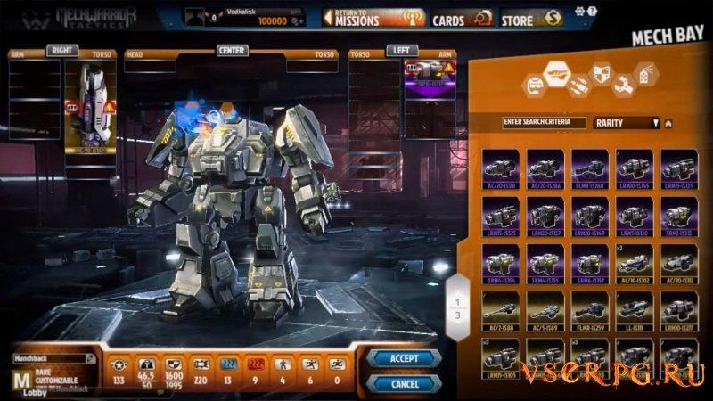 MechWarrior Tactics screen 3